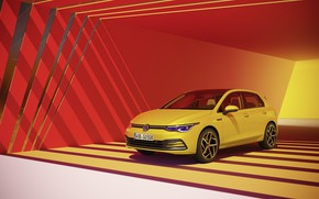 Picture Volkswagen, hatchback, Golf, hatchback, R-Line, 2020