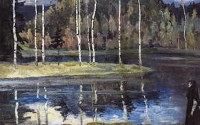 Picture Spring, 1890s 1900s, Nesterov, Mikhail Vasilyevich