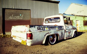 Picture Dodge, Car, Old, Truck, Custom, Low
