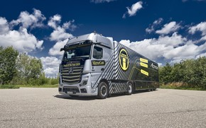 Picture mercedes benz, 1863, actros, edition 1, truck of the year