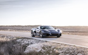 Picture supercar, 2018, Rimac, electric car, C-Two