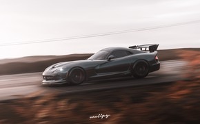 Picture Microsoft, Dodge, Viper, 2018, game art, Forza Horizon 4, by Wallpy