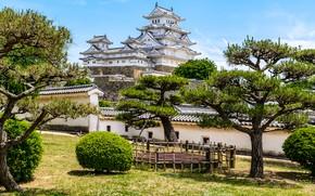 Picture The city, Japan, Garden, Palace, Park, Himeji, Peyzad
