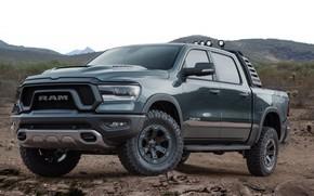 Picture Concept, Stones, Dirt, Dodge, Jeep, 2018, Mopar, Ram 1500
