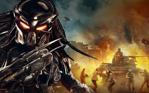Picture fiction, Predator, poster, horror, The Predator