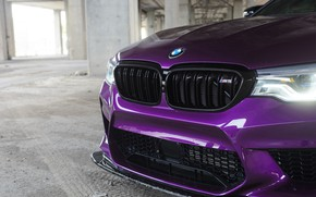 Picture BMW, Purple, Front, F90