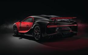 Picture Bugatti, rear view, 2018, Sport, Chiron