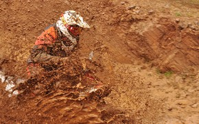 Picture race, sport, dirt, motorcycle