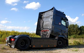 Picture truck, Renault, side view, tractor, Torpedo, T520, Renault Trucks, T-series