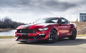 Wallpaper Mustang, Ford, Cobra, American, RED, Sight