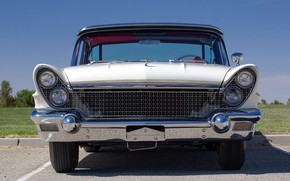 Picture 1960, Convertible, Front view, Lincoln Continental, Mark V