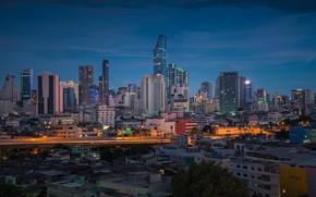 Picture the city, building, Thailand, Thailand, Bangkok, concrete jungle
