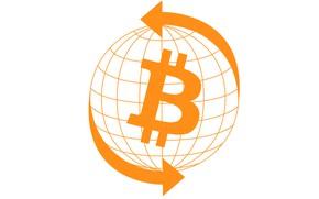 Picture white, white, fon, bitcoin, bitcoin, btc
