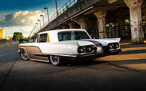 Picture Ford, Car, Classic, Coupe, Custom, Thunderbird, Ford Thunderbird