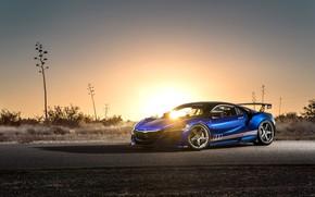 Picture sunset, Honda, Acura, NSX