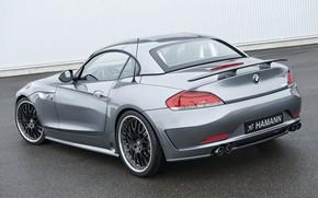 Picture grey, BMW, Roadster, Hamann, 2010, E89, BMW Z4, Z4, hard convertible top