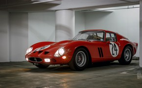 Picture Lights, Classic, 1963, Classic car, 250, Ferrari 250 GTO, Gran Turismo, 250 GTO, s/n 4293GT