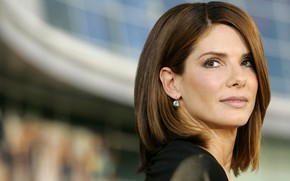 Picture look, pose, actress, photoshoot, hair, Sandra Bullock, Sandra Bullock