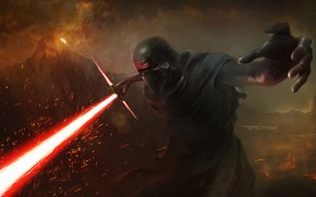 Picture Star Wars, Sword, Fantasy, Star wars, Art, Lightsaber, Sith, Characters, Lightsaber, Kylo Ren, Kyle Wren, …