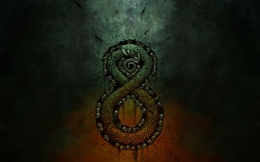 Picture sake, fantasy, snake, Warchief gaming, Auroboros: Coils of the Serpent