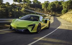 Picture McLaren, on the road, hybrid supercar, 3.0 l, 2021, Artura, V6 twinturbo