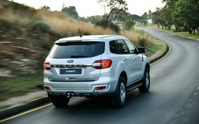 Picture road, Ford, turn, Everest, 4WD, XLT, 2019