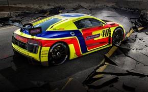 Picture Auto, Machine, Asphalt, AUDI, GT3, Concept Art, AUDI R8, Cracked, The rift, Transport & Vehicles, …