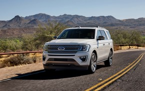Picture road, Ford, SUV, Expedition, 2020