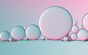 Picture circles, oil, pastel