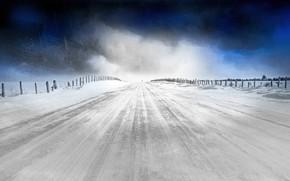 Picture cold, winter, nature