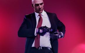 Picture Agent 47, IO Interactive, Warner Bros. Interactive Entertainment, Hitman 2