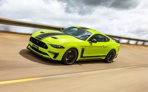 Picture speed, Mustang, Ford, AU-spec, R-Spec, 2019, Australia version