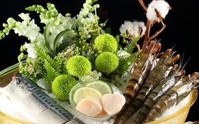 Picture Greens, Bouquet, Shrimp