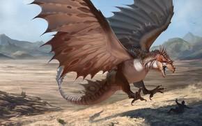 Picture dragon, Dragon, CREATURE, RJ Palmer