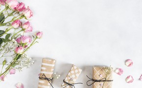 Picture Love, roses, gifts, flowers, Gift
