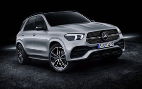 Picture Mercedes-Benz, crossover, 450, 4MATIC, GLE, AMG Line, 2019