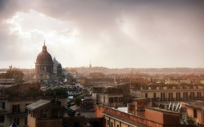 Picture the city, background, Vatican