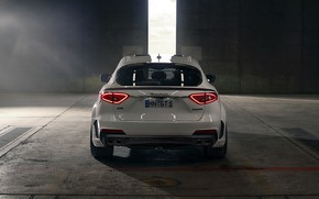 Picture Maserati, rear view, crossover, Rosso, Novitec, 2020, Q4, GranSport, Levante S, Extended V2
