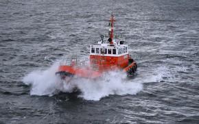 Picture sea, wave, Baltika
