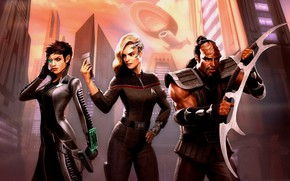 Picture fiction, characters, Star Trek Online