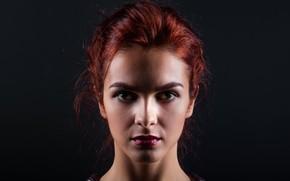 Picture portrait, sponge, Dasha, Andrey Zvyagintsev