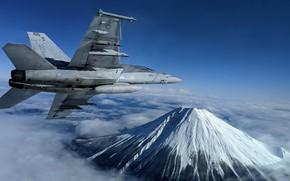 Picture Super Hornet, F/A-18F, U.S. 7th Fleet