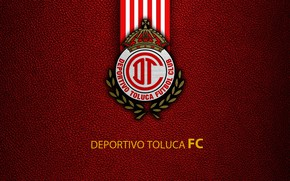 Picture wallpaper, sport, logo, football, Deportivo Toluca
