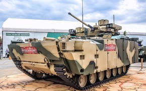 """Picture Russian weapons, Forum «ARMY 2018», a new type of armored vehicles, BMP """"kurganets-25"""""""