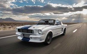 Picture Car, Ford Mustang, Speed, Muscle car, Road, Classic car, Shelby GT350CR