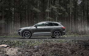 Picture TDI, Volkswagen, side view, Touareg, crossover, ABBOT, R-Line, V8, 2019