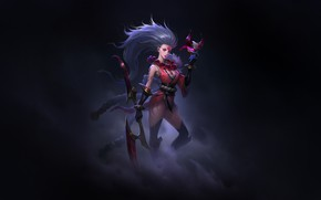 Picture Fantasy, Art, Game, League of Legends, Illustration, LoL, Diana, Diana, Characters, Blood Moon, Game Art, …