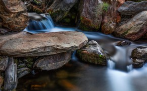 Picture stones, rocks, stream