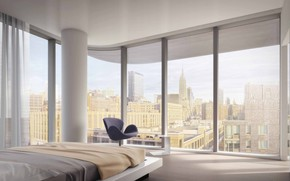 Picture room, interior, megapolis, bedroom, 520 West 28th Street