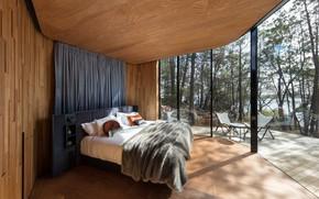 Picture interior, bedroom, Coastal Pavilion